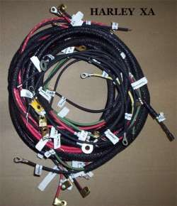 Harley XA Military wiring harness