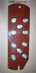 1949 to 1957 BT Electrical terminal plate kit
