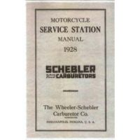 1928 Wheeler Schebler Carburetor Manual