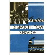 10 pages dispatch tow Indian service brochure.