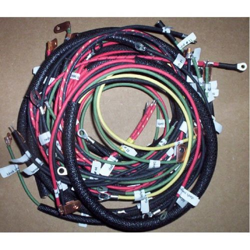 Complete wiring harness for the 1948 and other model year springer Panheads