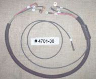 # 4701-38 Switch to Coil,Taillamp & Battery Positive junction terminal cable.