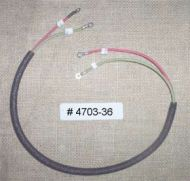 # 4703-36 Switch to Horn & toggle switch cable.
