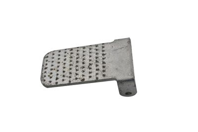 Zinc clutch heel pad for all Indians, I24B77