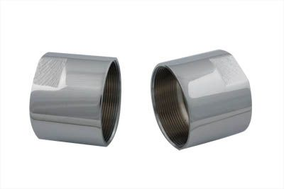 Indian throttle chrome sleeve tube nut I43088
