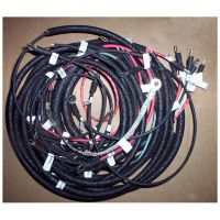 1940 Indian 640 military wiring harness with blackout light wiring