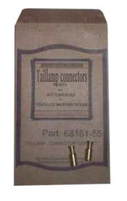 68161-55 Tail lamp connector contacts.