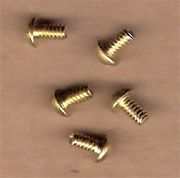 8310 Brush Holder Screws Brass