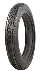 385 x 18 Coker Diamond Tread M/C Tire Blackwall Clincher 71335