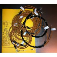 Excelsior early midco magneto generator cotton braided wiring harness.