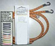 Harley J,JD sparkwire set dist/coil with loop terminals