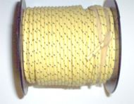 100 foot spool cloth covered wire with tracer 16 gauge